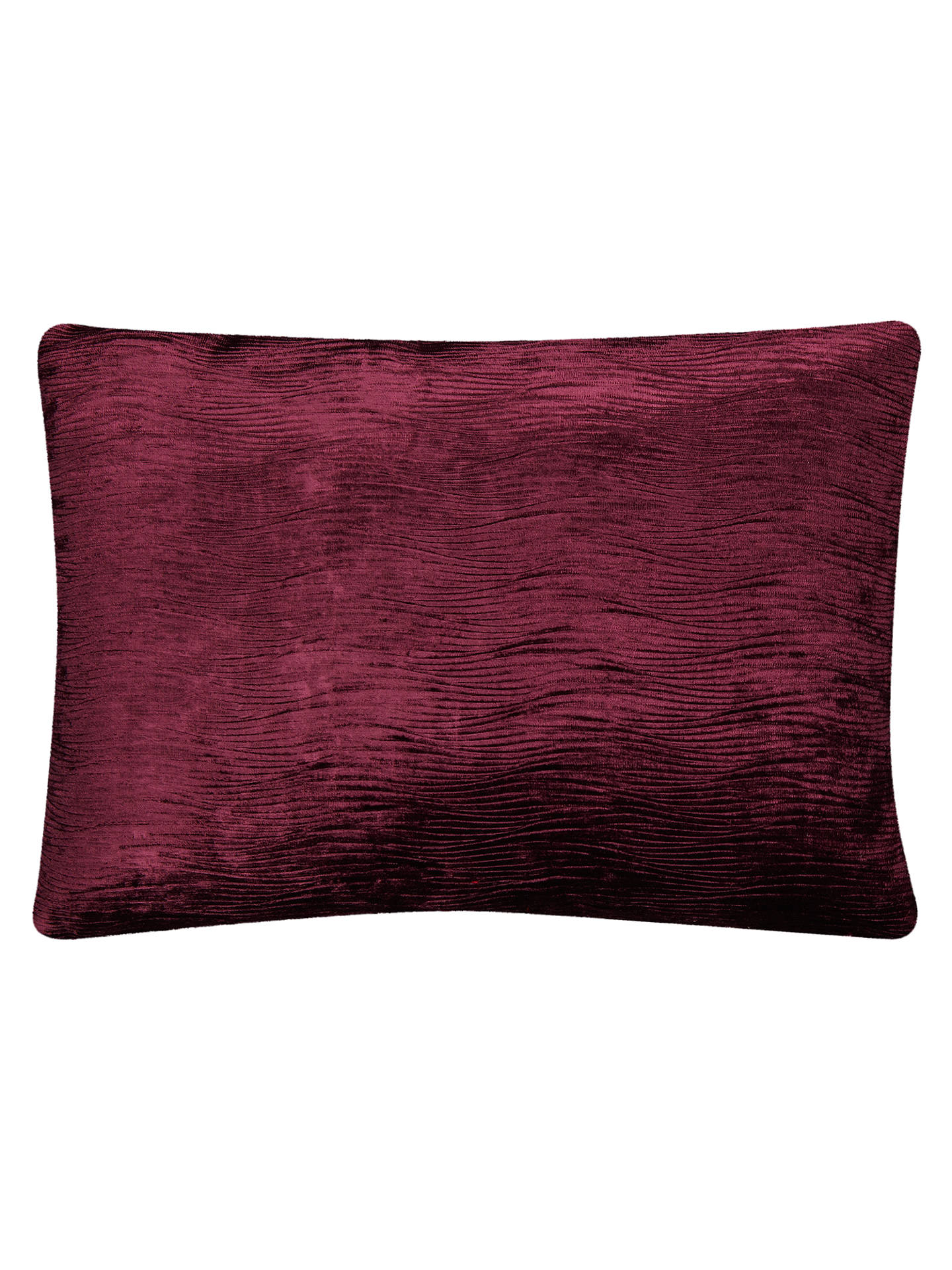 Buy Harlequin Arkona Velvet Cushion, Damson Online at johnlewis.com