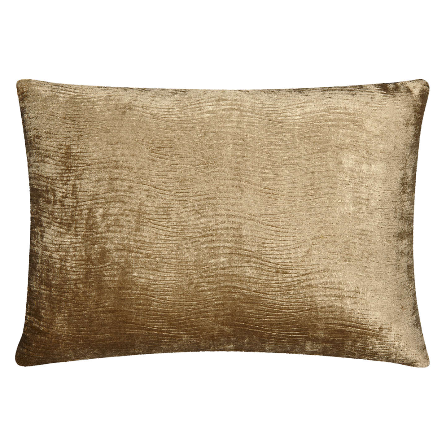 BuyHarlequin Arkona Velvet Cushion, Parchment Online at johnlewis.com