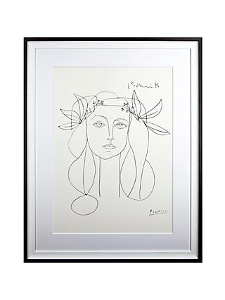 Picasso 'Head, 1946' Framed Print, 94 x 74cm