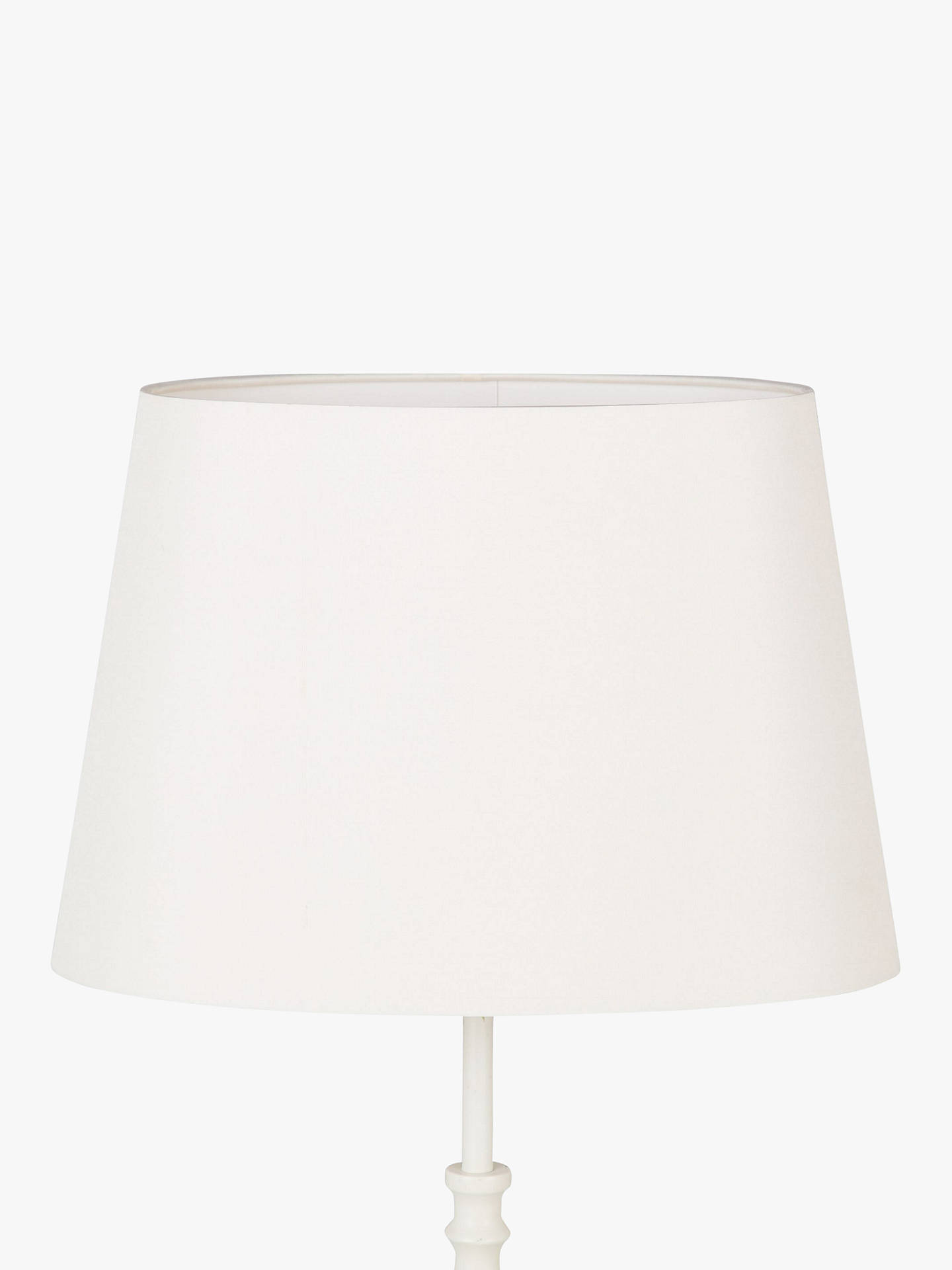 Buy John Lewis & Partners Gemma Silk Oval Lampshade, H17 x Dia.25cm Online at johnlewis.com