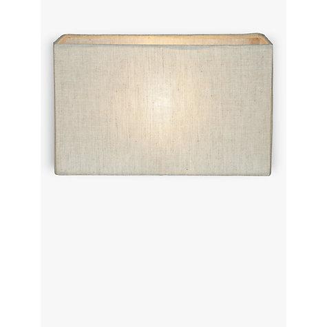 Linen lamp shade - rectangular