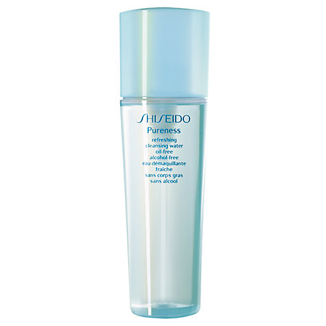 Buy Shiseido Pureness Refreshing Cleansing Water Oil-Free, 150ml Online at johnlewis.com