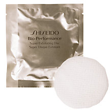 Buy Shiseido Bio-Performance Super Exfoliating Discs, 8 x Discs Online at johnlewis.com