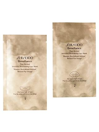 Shiseido Benefiance Pure Retinol Intensive Revitalizing Face Mask x 4