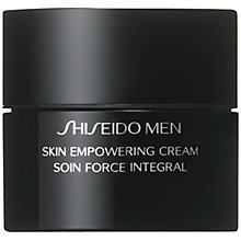 Buy Shiseido Men Skin Empowering Cream, 50ml Online at johnlewis.com