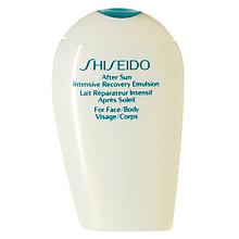 Buy Shiseido After Sun Intensive Recovery Emulsion (Face & Body), 150ml Online at johnlewis.com