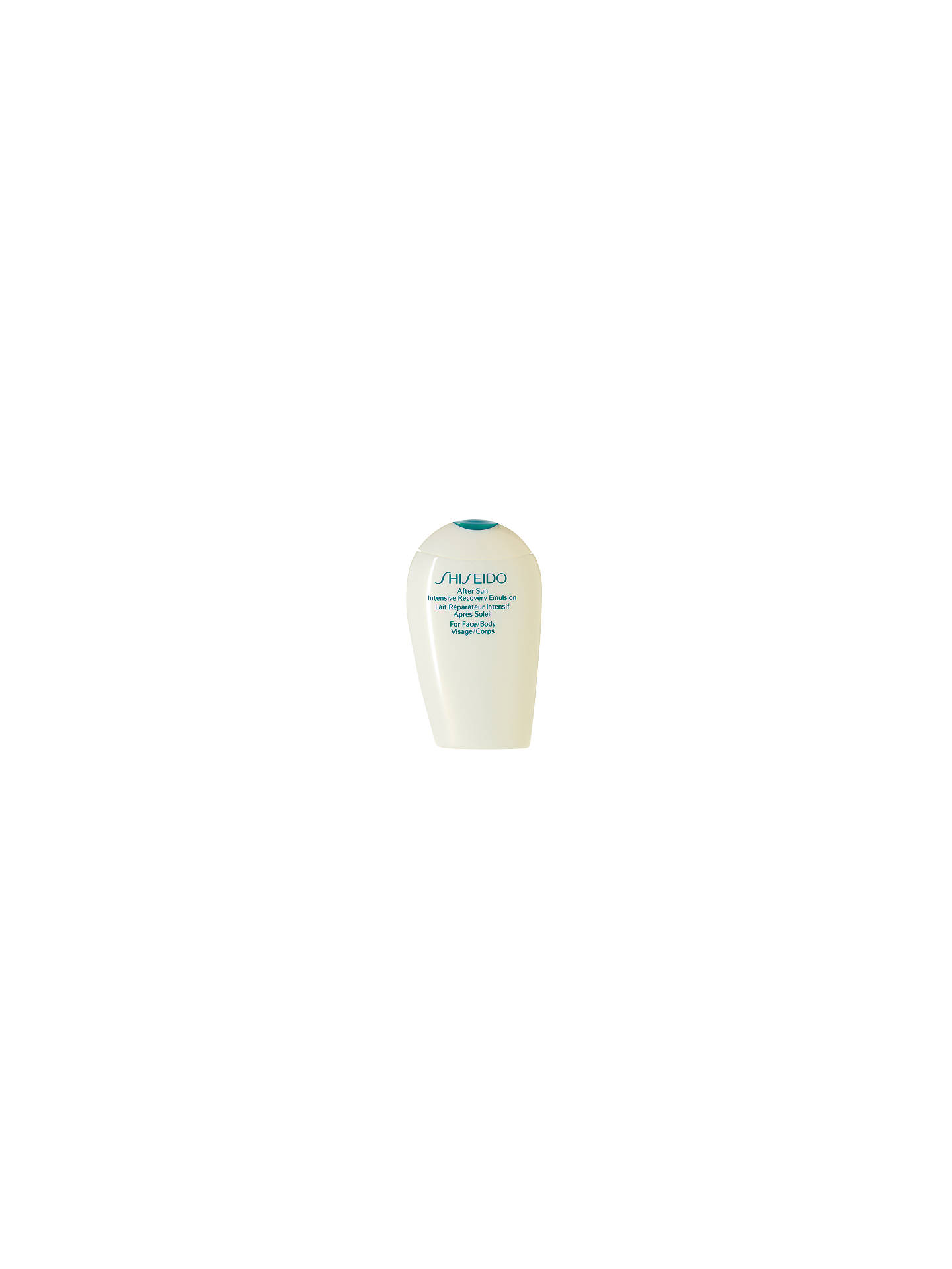 BuyShiseido After Sun Intensive Recovery Emulsion (Face & Body), 150ml Online at johnlewis.com