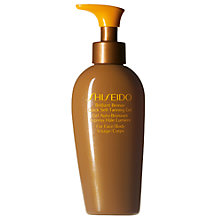 Buy Shiseido Brilliant Bronze Quick Self-Tanning Gel, 150ml Online at johnlewis.com