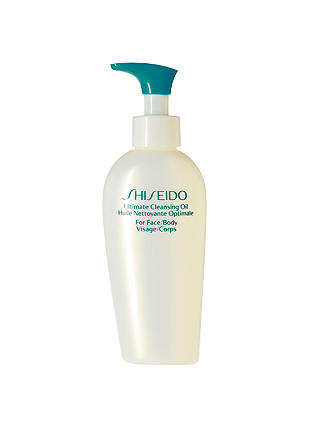 Buy Shiseido Ultimate Cleansing Oil, 150ml Online at johnlewis.com