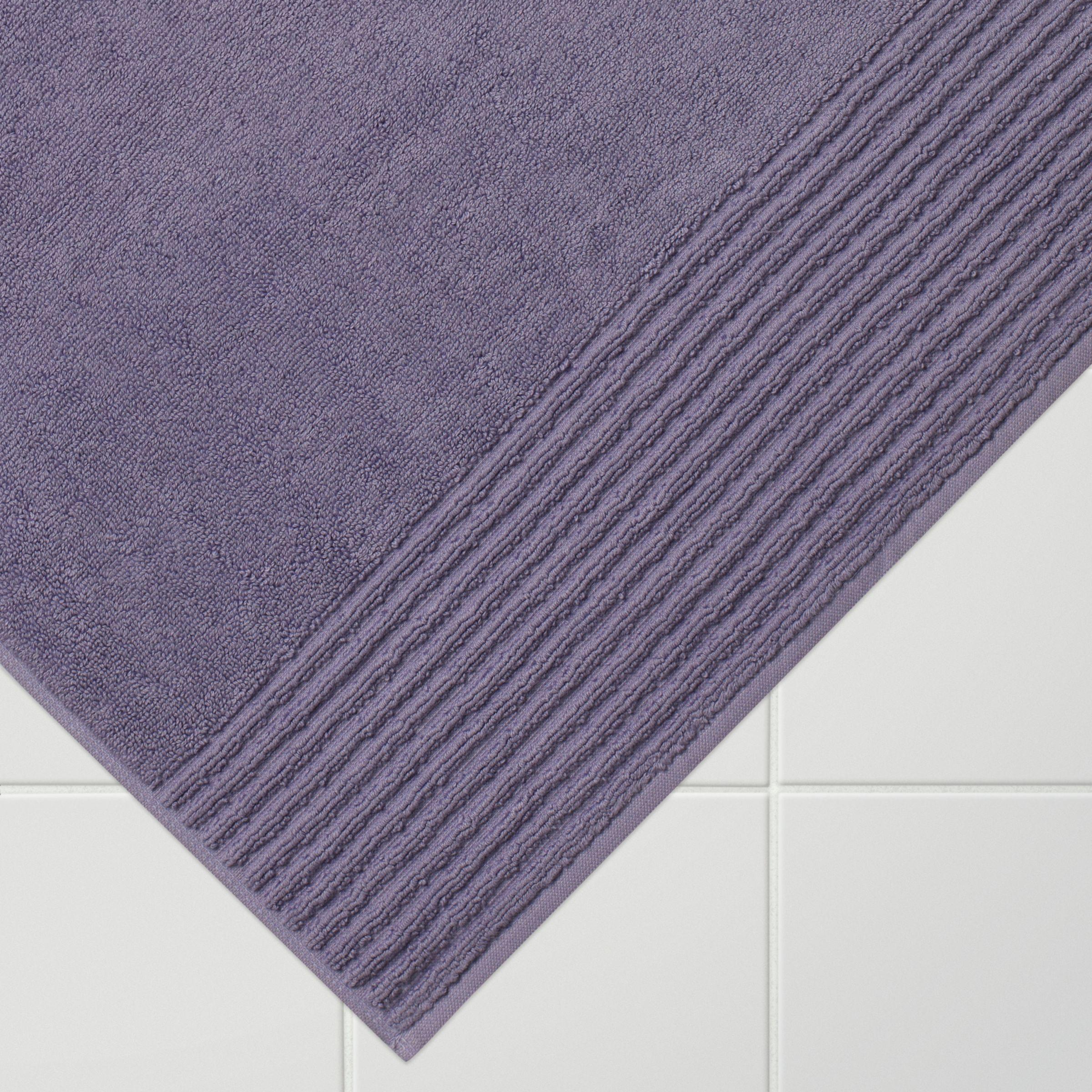 4a8219332b John Lewis & Partners Egyptian Cotton Bath Mat, Pale Cassis