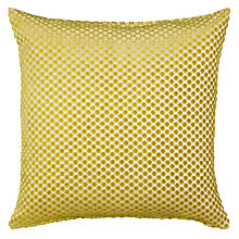 Buy John Lewis Mini Spot Cushion, Green Online at johnlewis.com