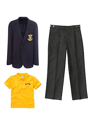 St John's Senior School, Boys' Uniform