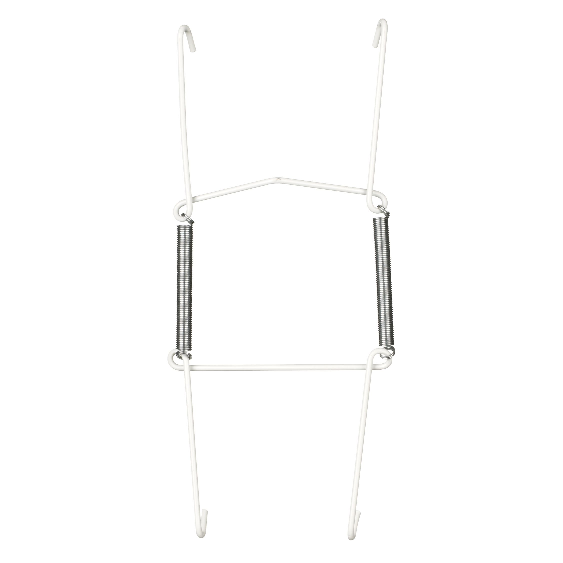 Unbranded Wire Plate Hanger, White