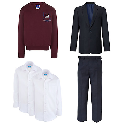 Buy Leehurst Swan School Boys Years 7 - 11 Uniform Online at johnlewis.com