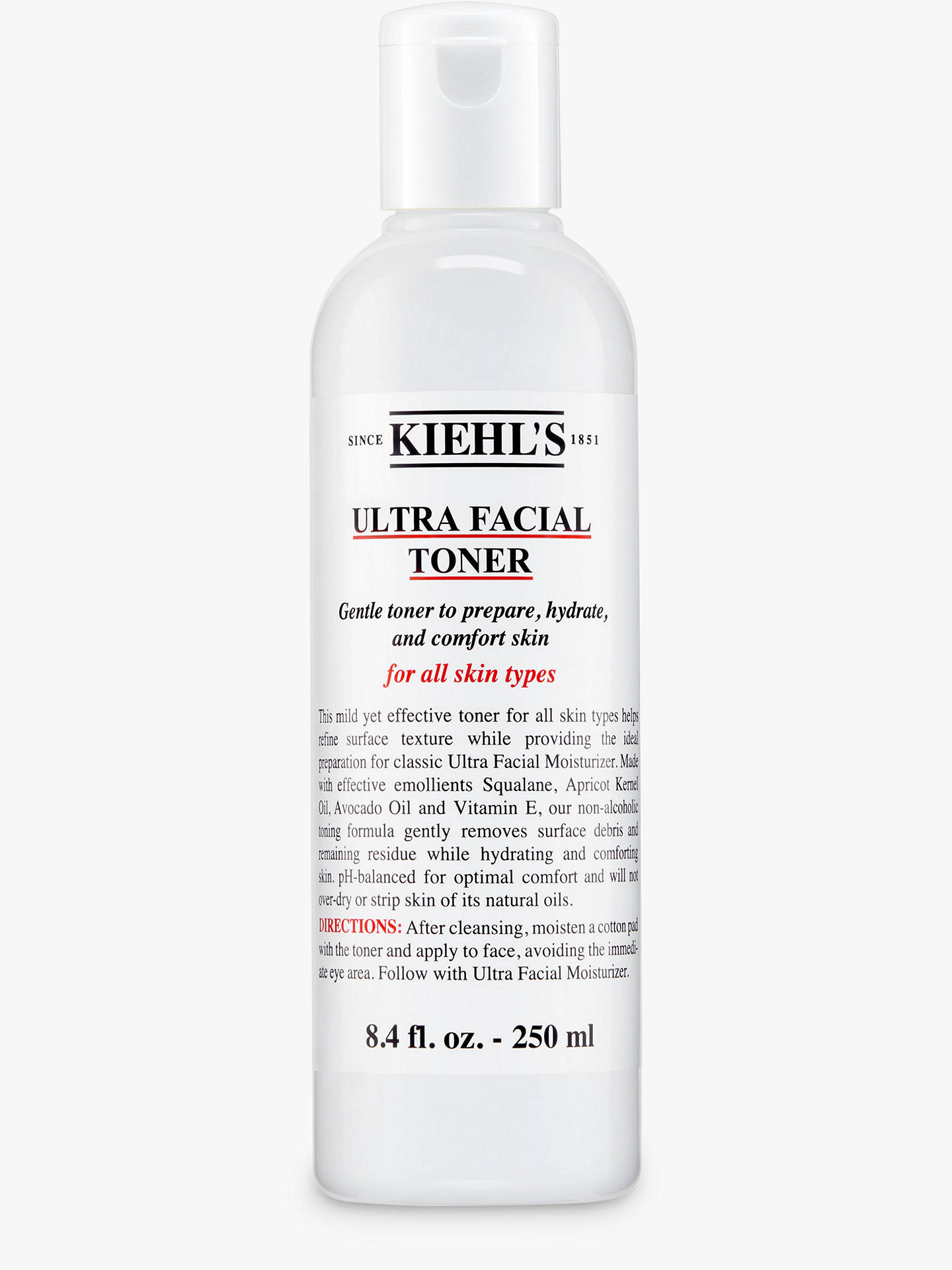 BuyKiehl's Ultra Facial Toner, 250ml Online at johnlewis.com