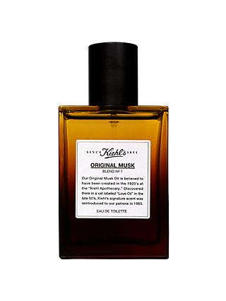 Kiehl's Original Musk Eau De Toilette Spray, 50ml