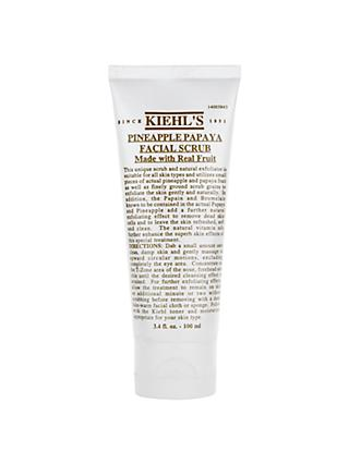 Kiehl's Pineapple Papaya Facial Scrub, 100ml