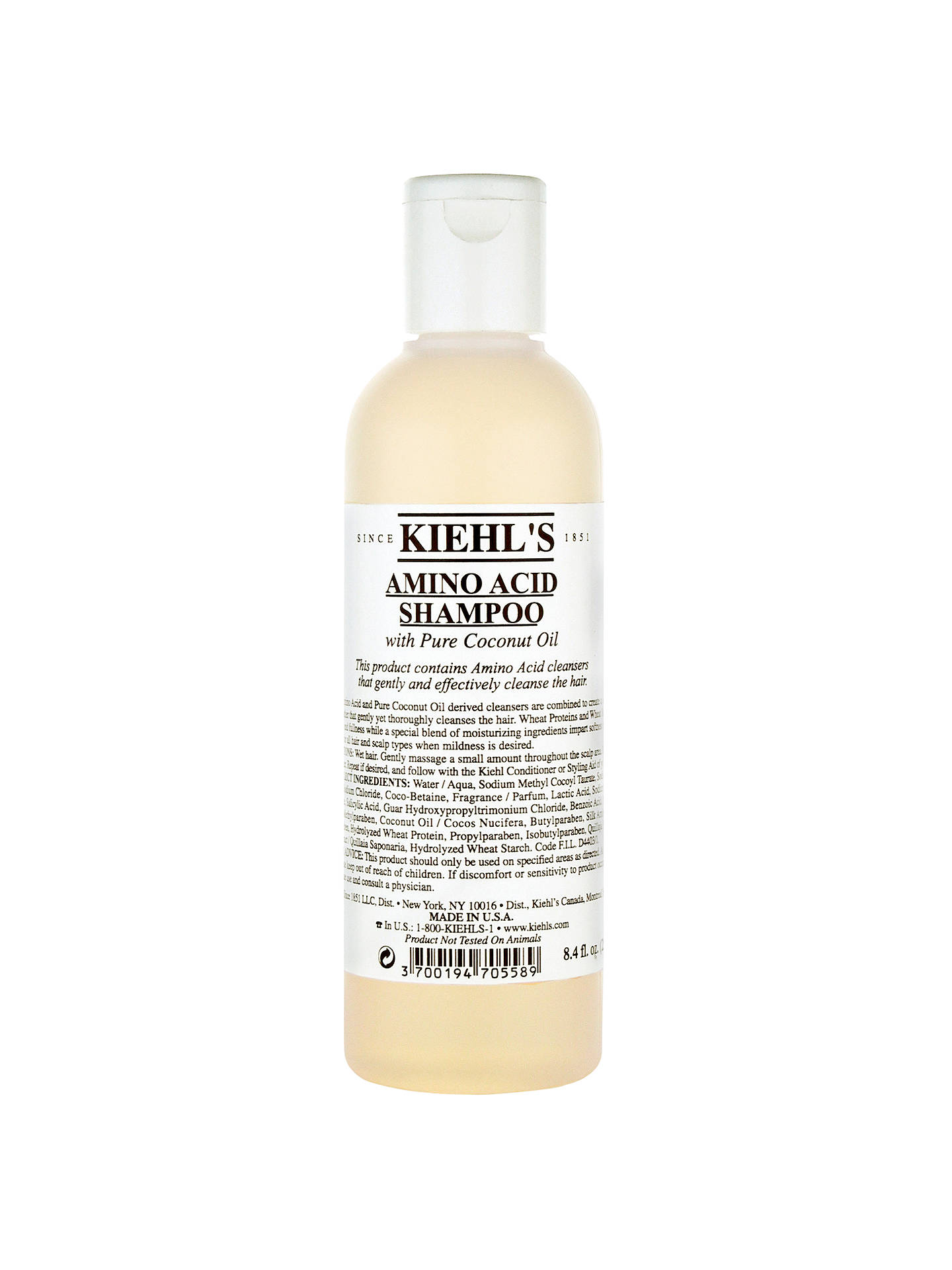 Buy Kiehl's Amino Acid Shampoo, 250ml Online at johnlewis.com