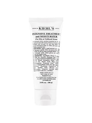 Kiehl's Intensive Treatment And Moisturizer For Dry Or Callused Areas, 100ml