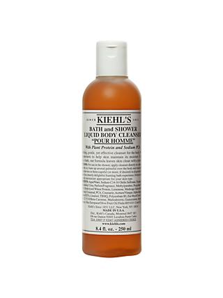 Kiehl's Pour Homme Bath and Shower Liquid Body Cleanser, 250ml