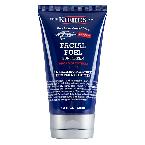Buy Kiehl's Facial Fuel SPF15, 125ml Online at johnlewis.com