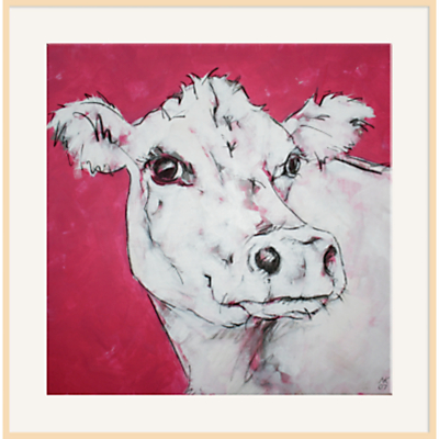 Nicola King – Cow On Red