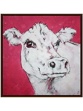Nicola King - Cow On Red