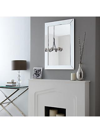 John Lewis & Partners Simple Bevel Mirror Range