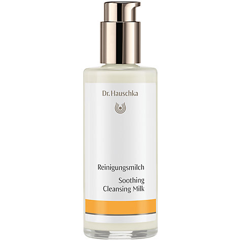 Buy Dr Hauschka Soothing Cleansing Milk, 145ml Online at johnlewis.com
