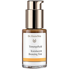 Buy Dr Hauschka Translucent Bronze Concentrate, 30ml Online at johnlewis.com