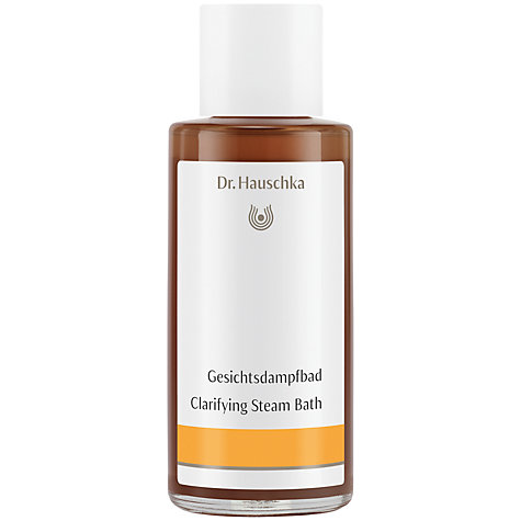 Buy Dr Hauschka Clarifying Steam Bath, 100ml Online at johnlewis.com