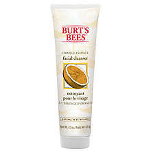 Buy Burt's Bees Orange Essence Facial Cleanser, 120g Online at johnlewis.com