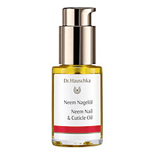 Buy Dr Hauschka Neem Nail Oil, 30ml Online at johnlewis.com