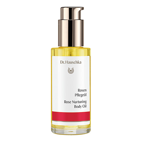 Buy Dr Hauschka Rose Body Oil, 75ml Online at johnlewis.com