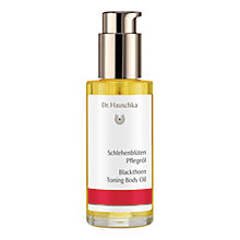 Buy Dr Hauschka Blackthorn Body Oil, 75ml Online at johnlewis.com