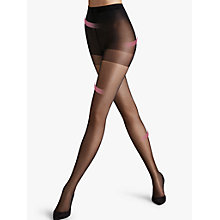 Buy Wolford Miss W 30 Denier Absolute Leg Support Tights, Black Online at johnlewis.com