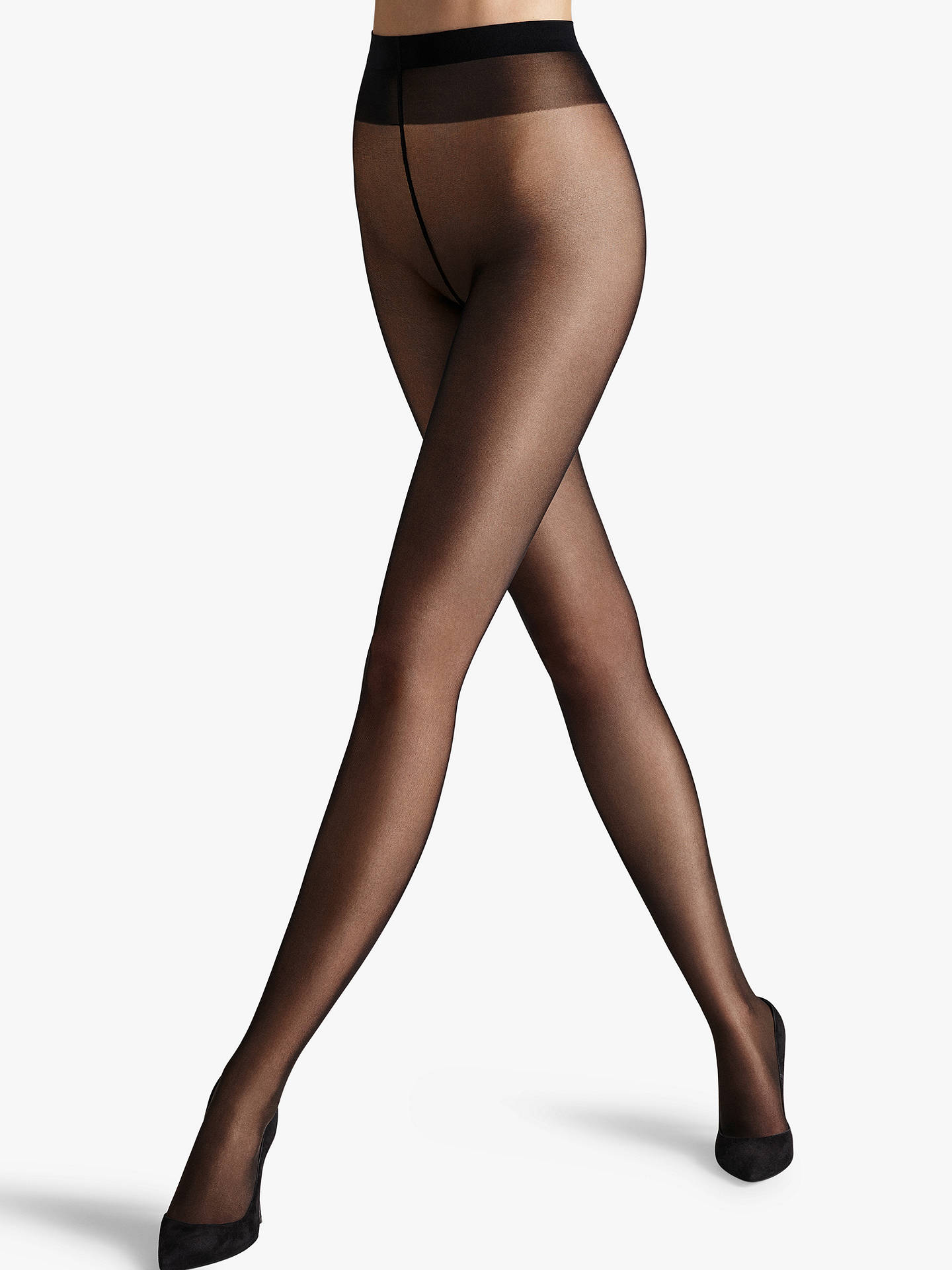 f5ae7df11972f Buy Wolford 30 Denier Perfectly Tights, Black, S Online at johnlewis.com ...