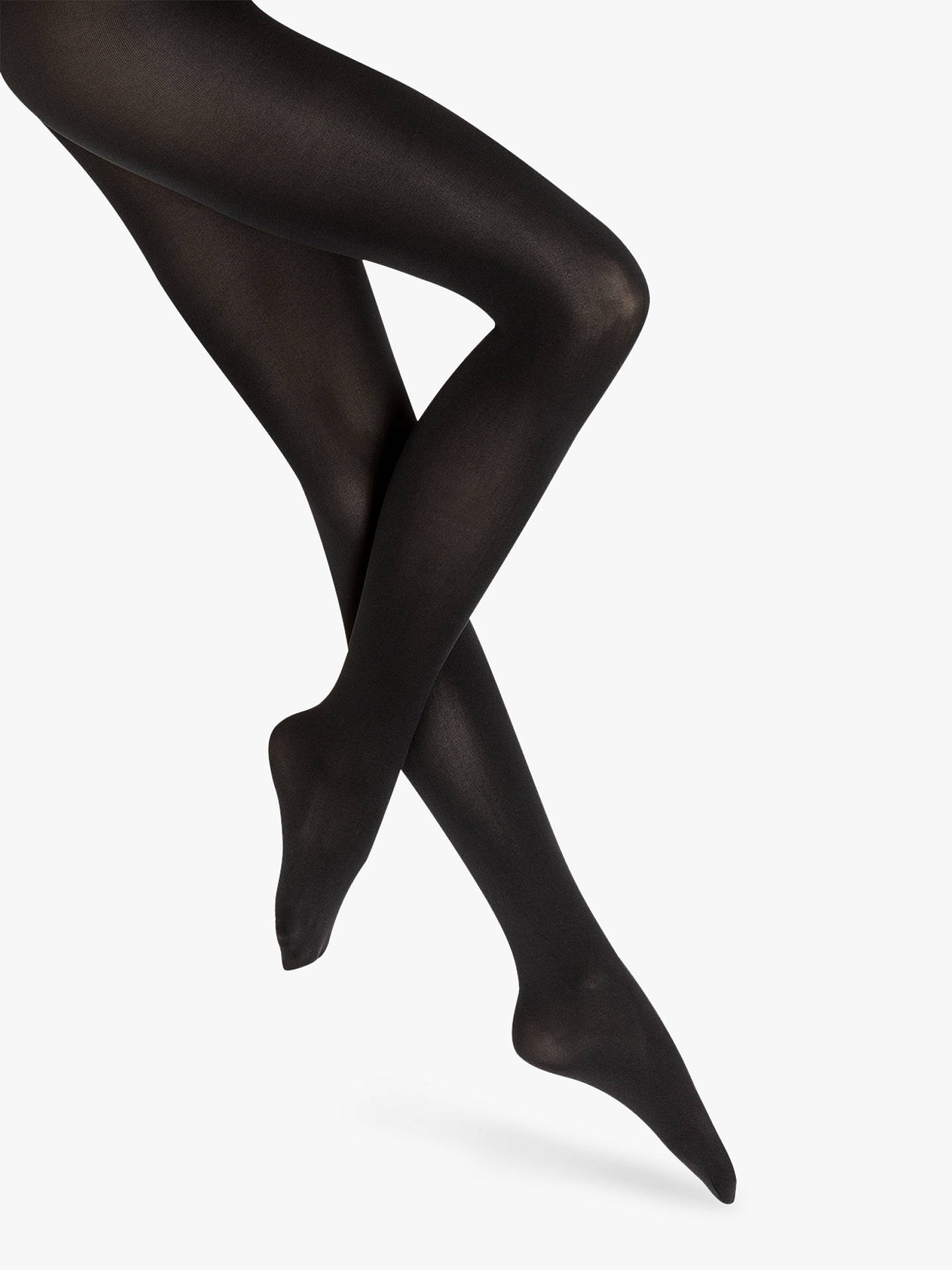 Buy Wolford Matte Opaque 80 Denier Tights, Black, XL Online at johnlewis.com