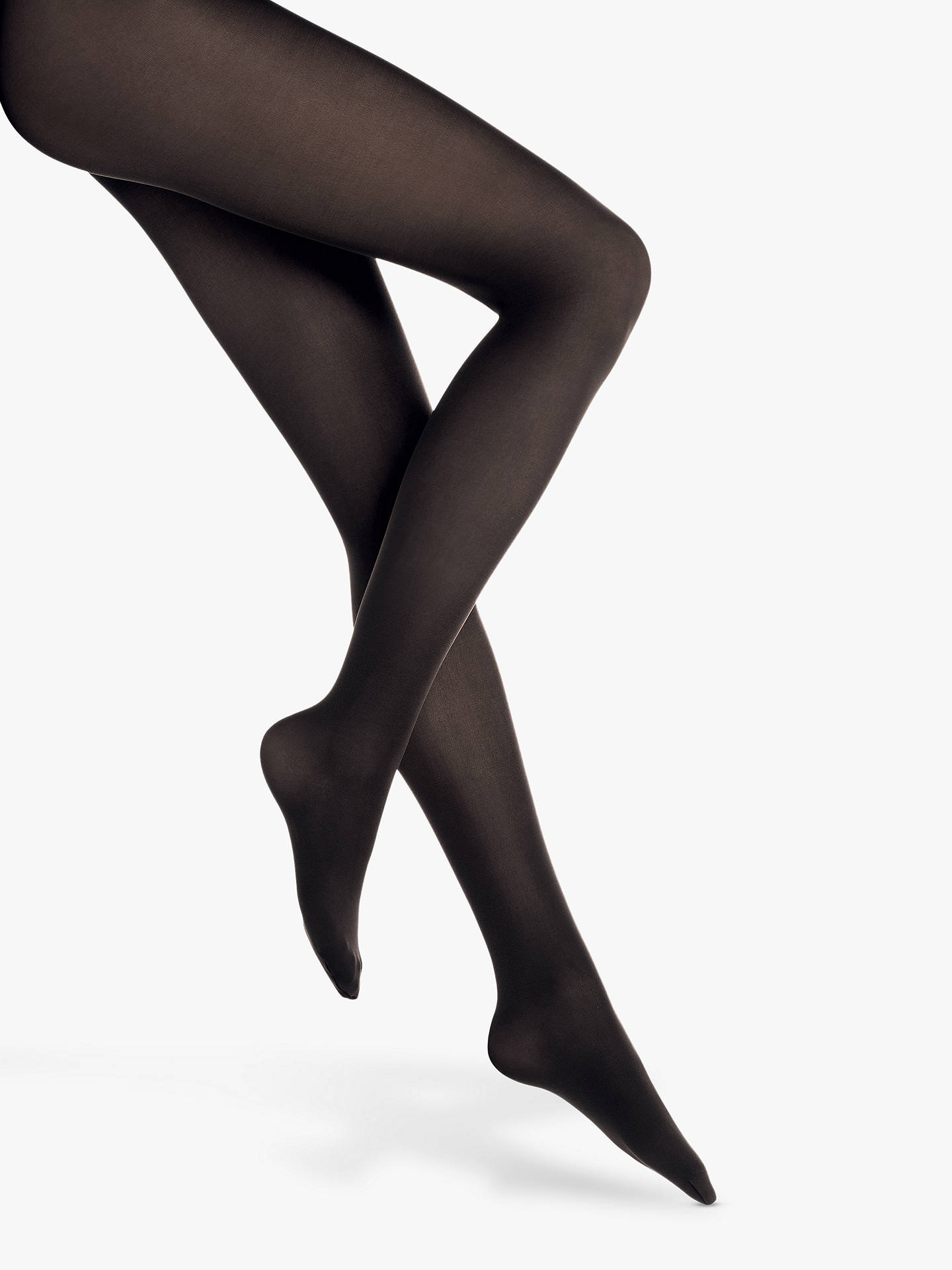 fbcd68d39bbc0 ... Buy Wolford Velvet De Luxe 50 Denier Opaque Tights, Black, S Online at  johnlewis
