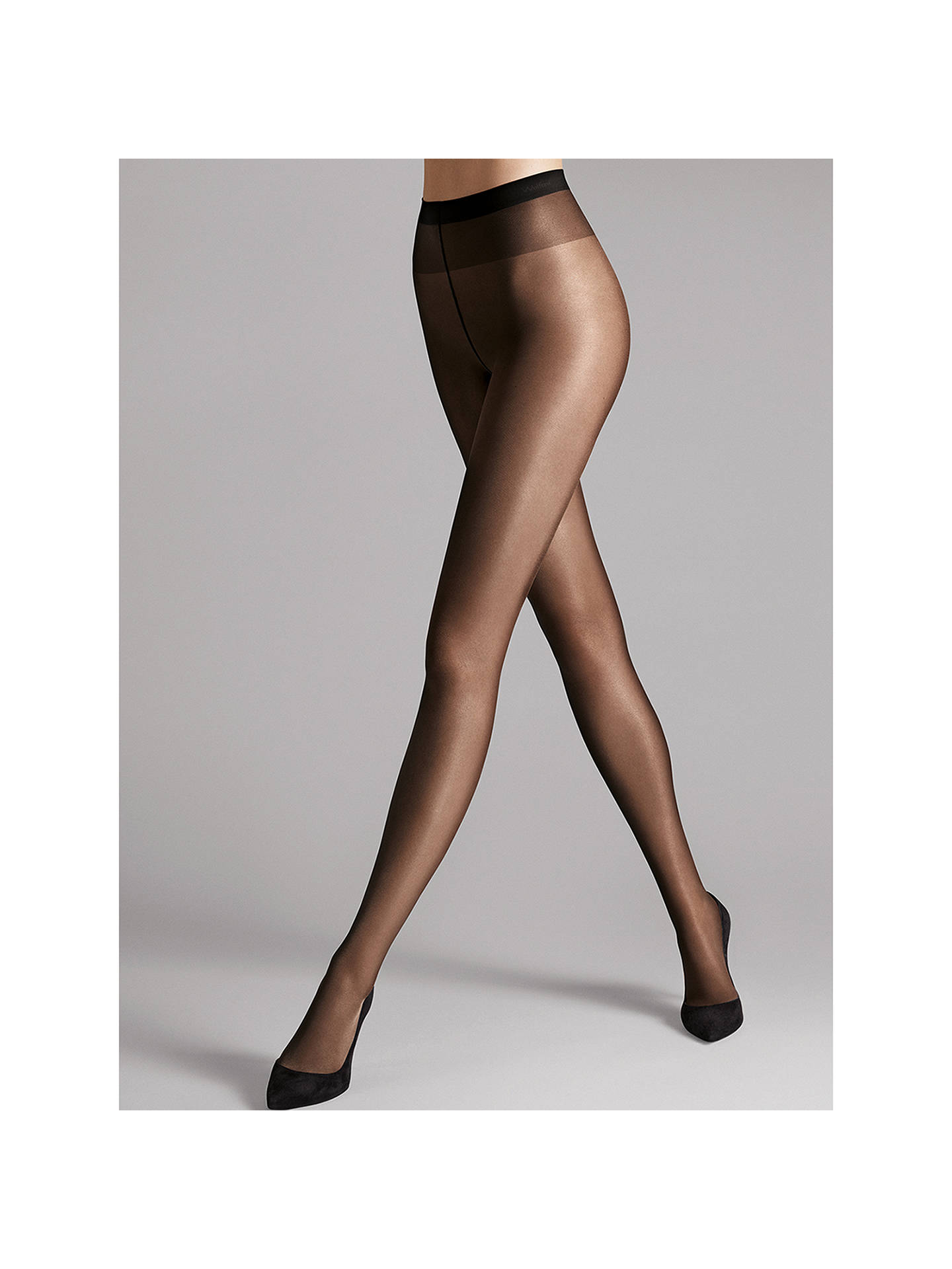 4165b2ad7 Wolford 20 Denier Satin Touch Tights at John Lewis   Partners