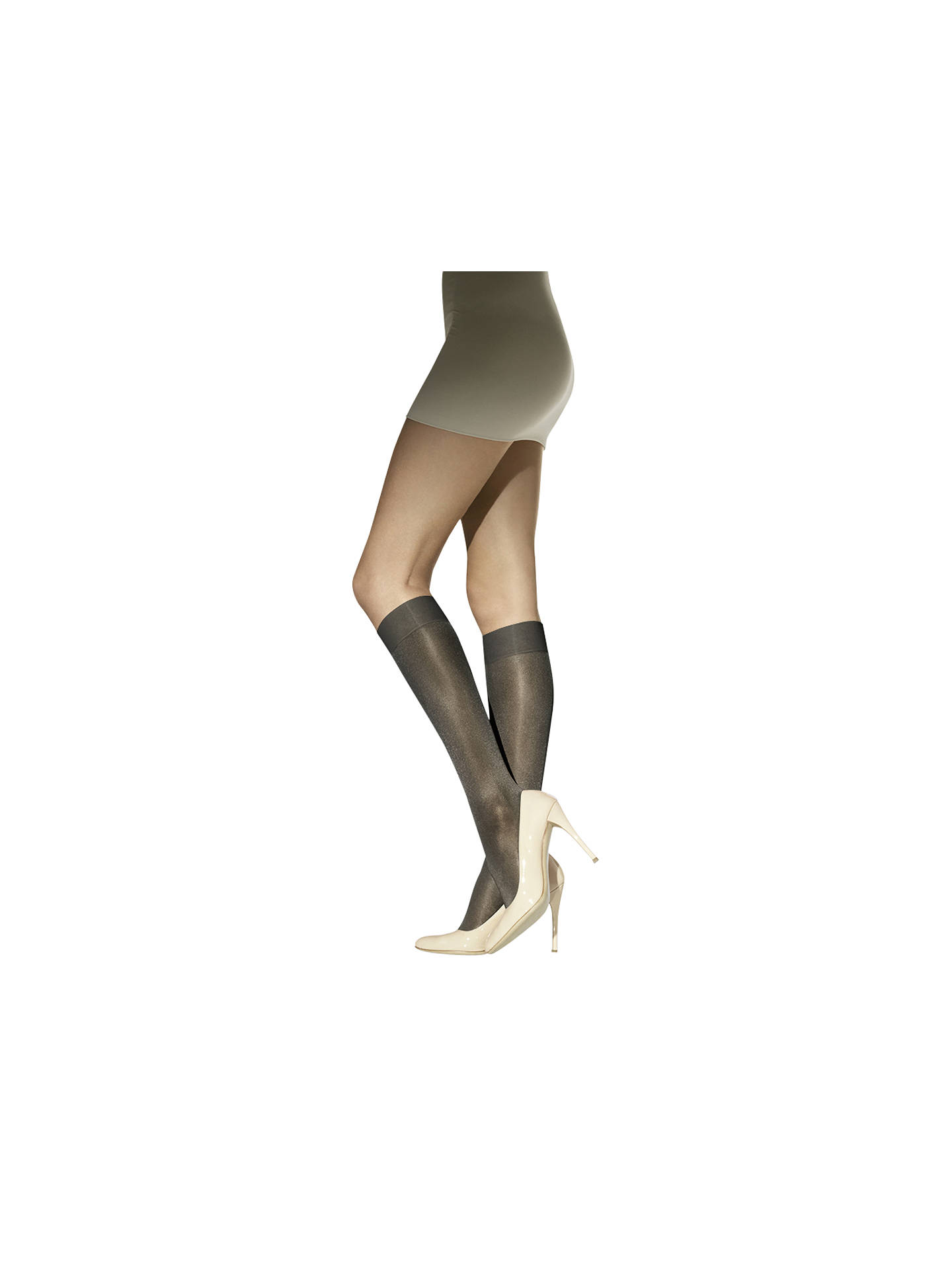 5f26e7d8f Wolford Satin Touch 20 Denier Knee Highs at John Lewis   Partners