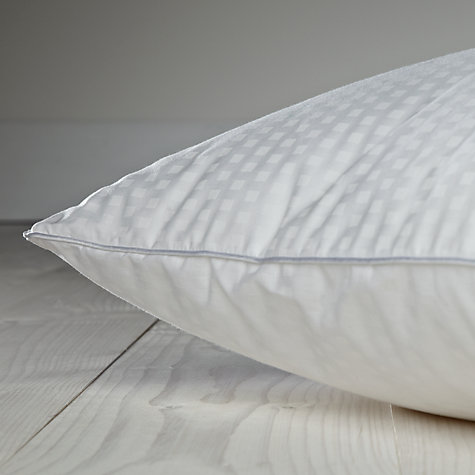 Buy John Lewis Breathable Microfibre Standard Pillow, Medium/Firm Online at johnlewis.com