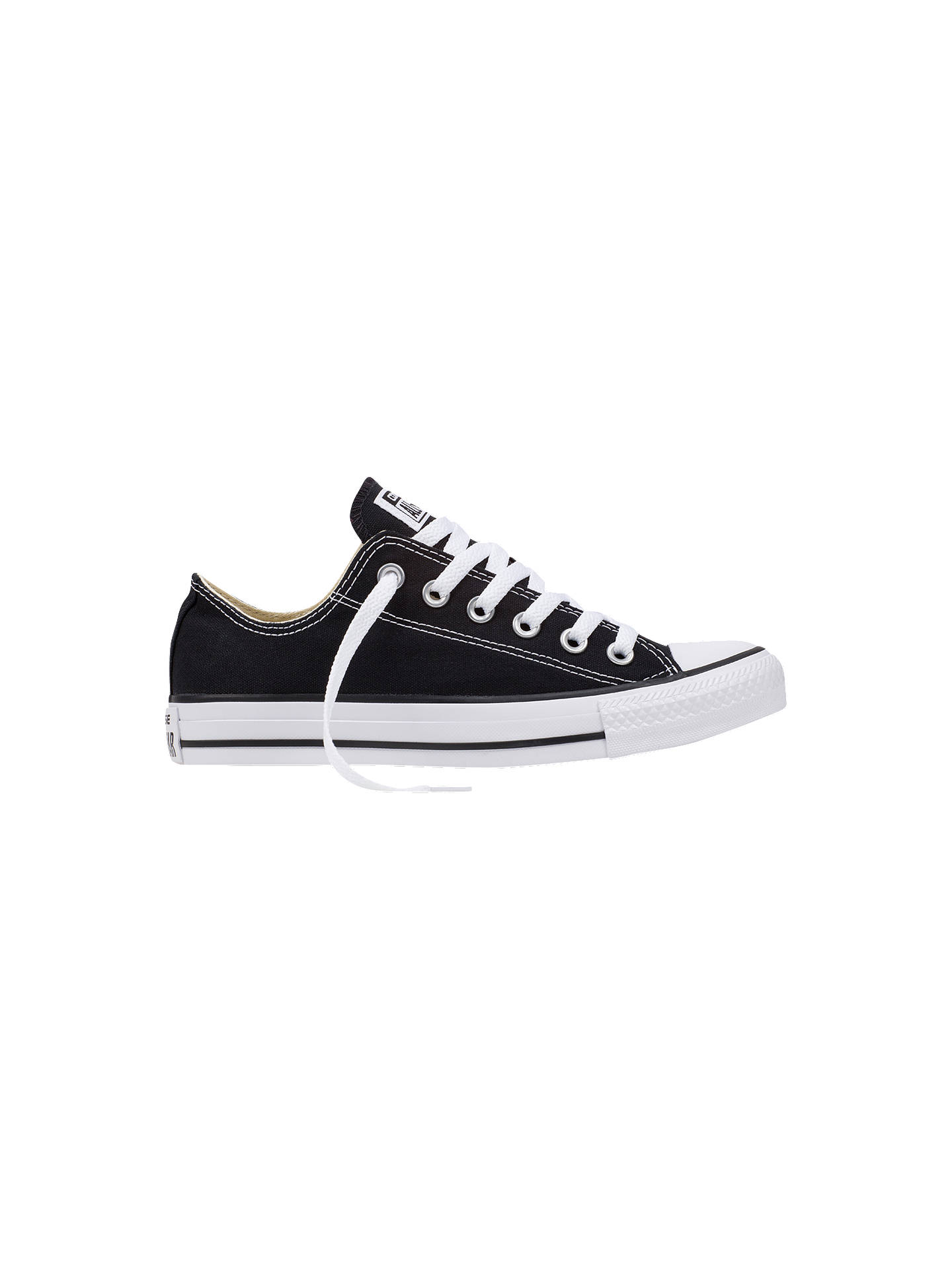 best sneakers f17ce ca8c4 Buy Converse Chuck Taylor All Star Ox Trainers, Black, 9 Online at  johnlewis.