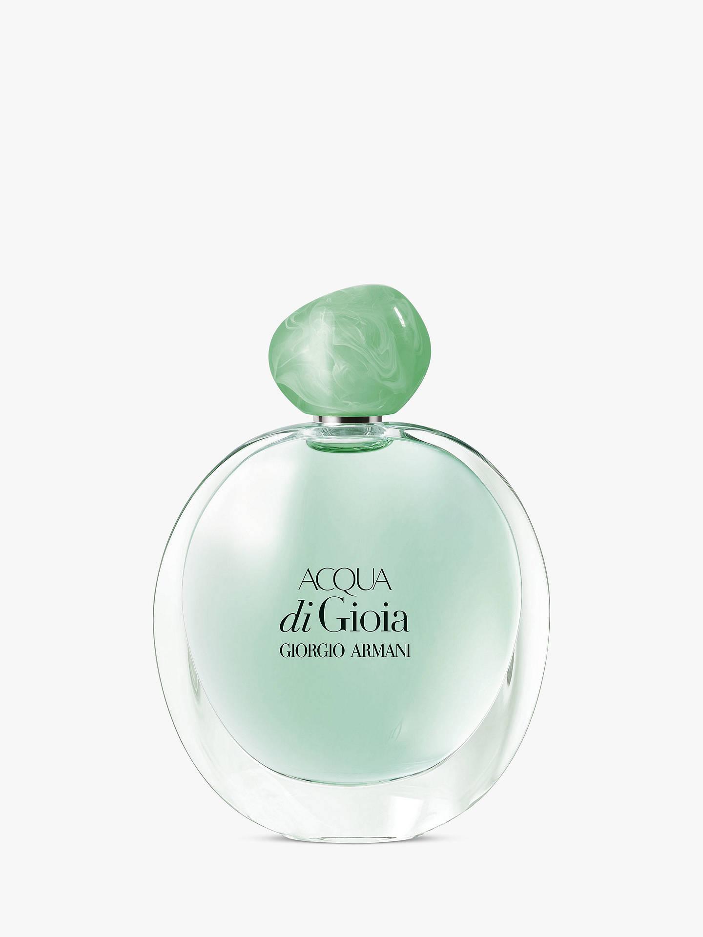 Giorgio Armani Acqua Di Gioia Eau De Parfum At John Lewis Partners
