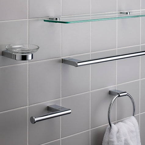 Buy John Lewis Opus Single Towel Bar Online at johnlewis.com