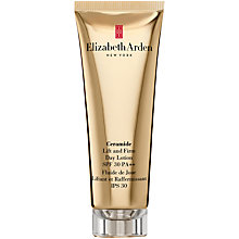 Buy Elizabeth Arden Ceramide Lift & Firm Moisture Lotion SPF 30, 50ml Online at johnlewis.com