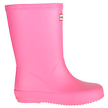 Buy Hunter Children's First Classic Wellington Boots Online at johnlewis.com