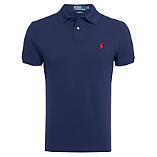 Buy Polo Ralph Lauren Custom Fit Short Sleeve Polo Shirt Online at johnlewis.com