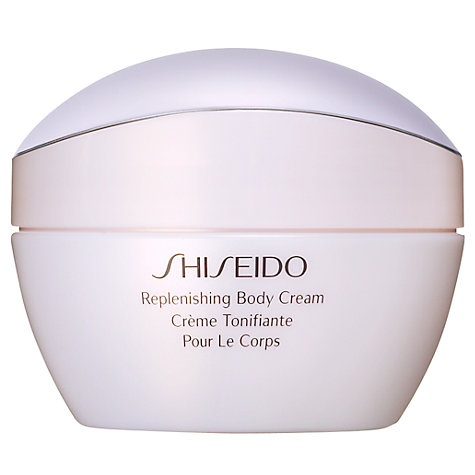 Buy Shiseido Replenishing Body Cream, 200ml Online at johnlewis.com
