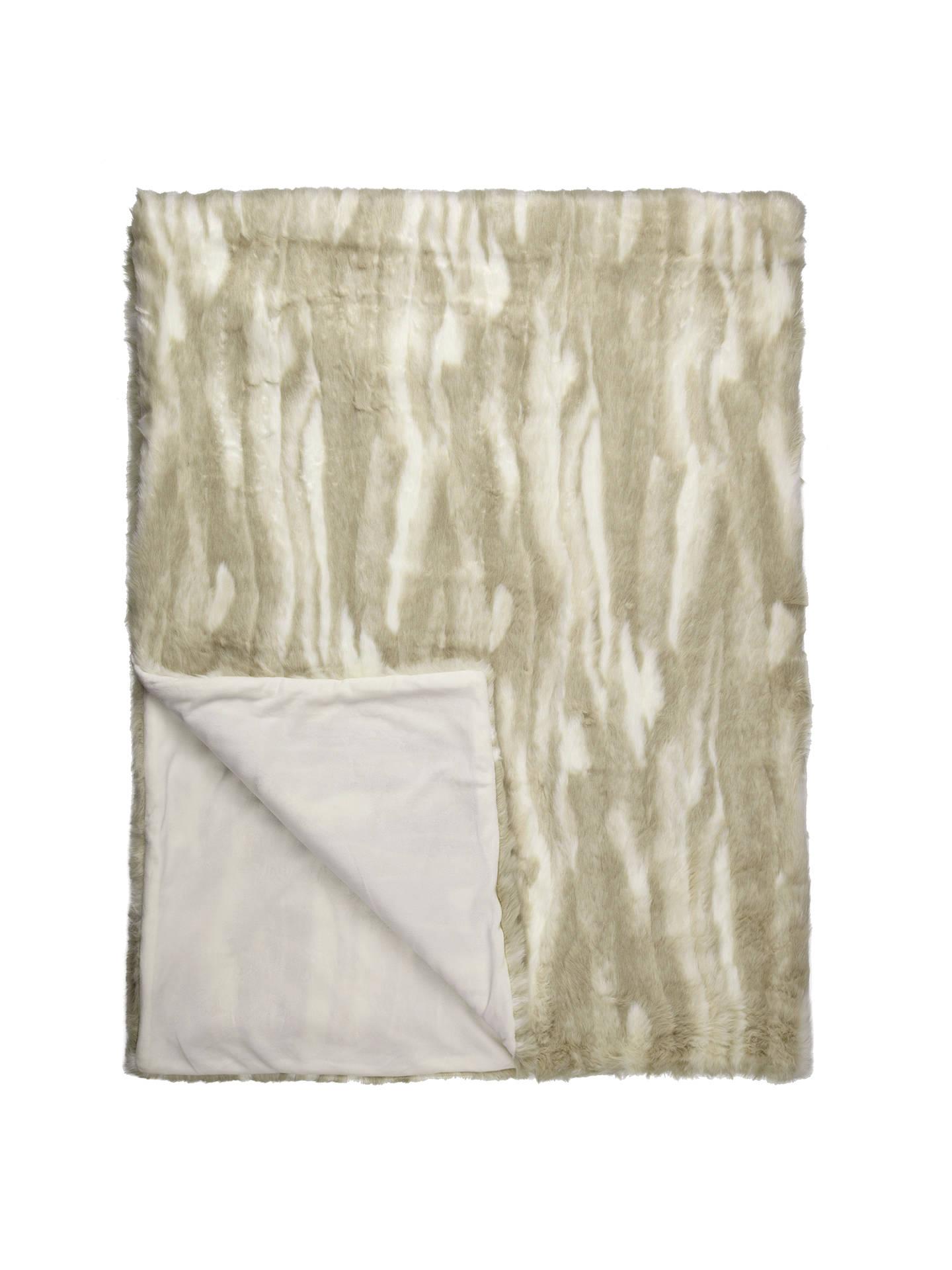 john lewis svetlana faux fur throw at john lewis partners. Black Bedroom Furniture Sets. Home Design Ideas